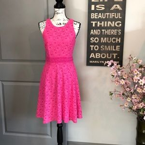 💕Beautiful Pink Shelli Segal Summer Dress💕